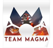 Pokemon Team Magma Poster