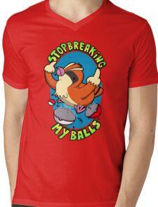 Stop breaking my balls! - Rude edition Mens V-Neck T-Shirt