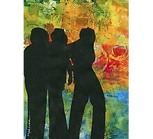 Three Cool Dudes Photographic Print