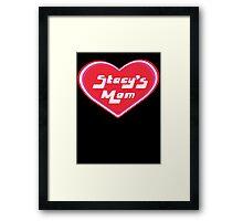 Stacy's Mom Framed Print
