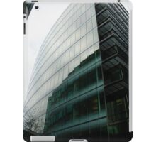 Glass building with reflections iPad Case/Skin
