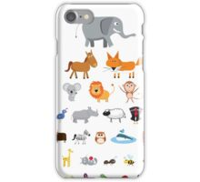 Animal Eye Test iPhone Case/Skin