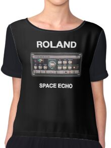 Roland Space Echo  Chiffon Top