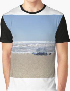 Blue Bottle Jellyfish  Graphic T-Shirt
