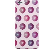 Crowned Balloons iPhone Case/Skin