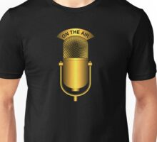 On The Air Vintage Gold Unisex T-Shirt