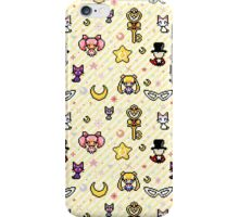 Sailor Moon family - Yellow iPhone Case/Skin