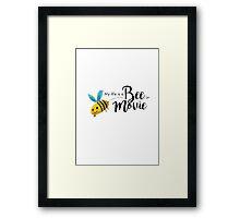 Bee Movie Framed Print