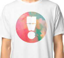 Watercolour MWC Exclamation Logo Classic T-Shirt