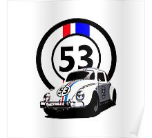 HERBIE 53 - THE LOVE BUG  Poster