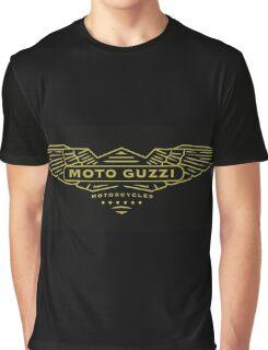 Moto Guzzi Motorcycles Italy Graphic T-Shirt