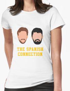 Nikola and Pau Womens Fitted T-Shirt