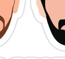 Nikola and Pau Sticker