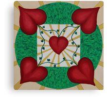 Mandala No. 8: Love Canvas Print