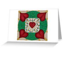 Mandala No. 8: Love Greeting Card