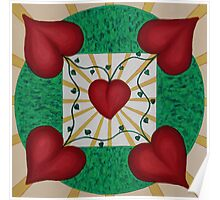 Mandala No. 8: Love Poster