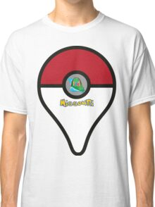 Missouri Pokemon Go Location Pin Classic T-Shirt