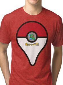 Missouri Pokemon Go Location Pin Tri-blend T-Shirt
