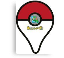 Missouri Pokemon Go Location Pin Canvas Print