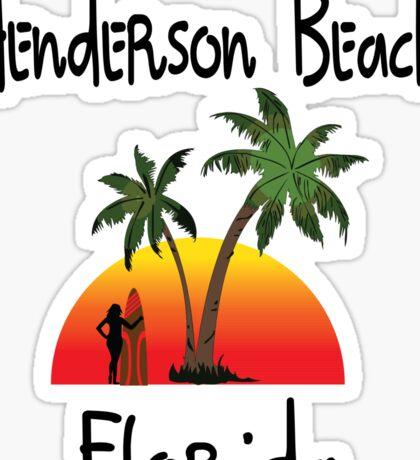 Henderson Beach Florida Sticker
