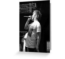 Dalton rapattoni- CLEVELAND show black and white Greeting Card