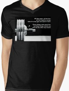 All That Anger, Fear, and Negative Energy Mens V-Neck T-Shirt