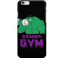 gamma gym iPhone Case/Skin