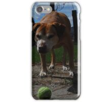 lets play ball iPhone Case/Skin