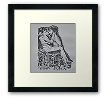 Adaptation of Tee Corinne's A Woman's Touch (1979) Framed Print
