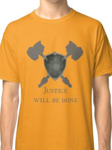 Overwatch - Justice will be Done Classic T-Shirt