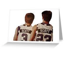 Scott Brothers Greeting Card