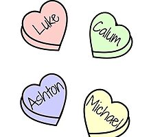 5SOS Hearts by rxdshtclothing
