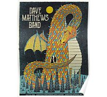 Dave Matthews Band  - Performing Arts Center Saratoga, Springs NY 2016 Poster