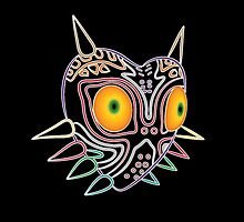 Majora's Mask Neon LIghts by TygansTail