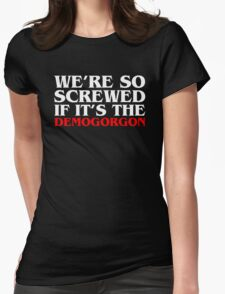 Demogorgon B Womens Fitted T-Shirt