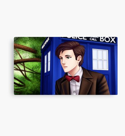 Doctor Who (11th Doctor) Canvas Print