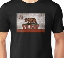 Soviet Republic of California (distressed) Unisex T-Shirt