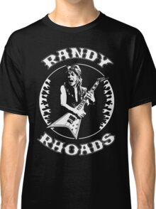 Randy Rhoads (Flames) Classic T-Shirt