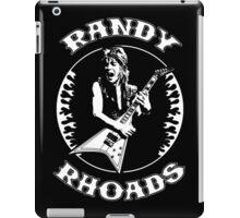 Randy Rhoads (Flames) iPad Case/Skin