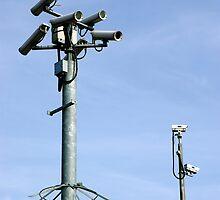 CCTV Security cameras by Clayton Suares