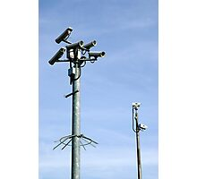 CCTV Security cameras Photographic Print