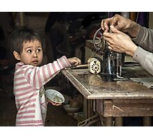 My Dad's a Tailor ...  Photographic Print