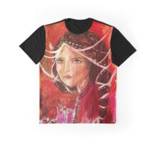 pink and red Graphic T-Shirt