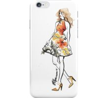 The Little Floral Dress iPhone Case/Skin
