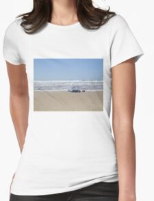 Blue Bottle Jellyfish  Womens Fitted T-Shirt