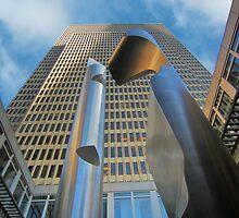 Embarcadero Sculpture - Willi Gutmann by David Denny