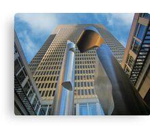 Embarcadero Sculpture - Willi Gutmann Canvas Print