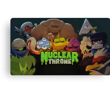 Nuclear Creature Canvas Print