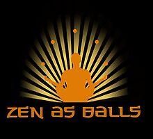 """""""Zen as balls"""" by Elizabeth Probert"""