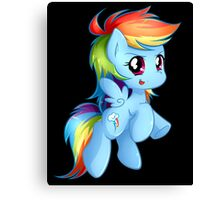 Chibi Rainbow Dash Canvas Print